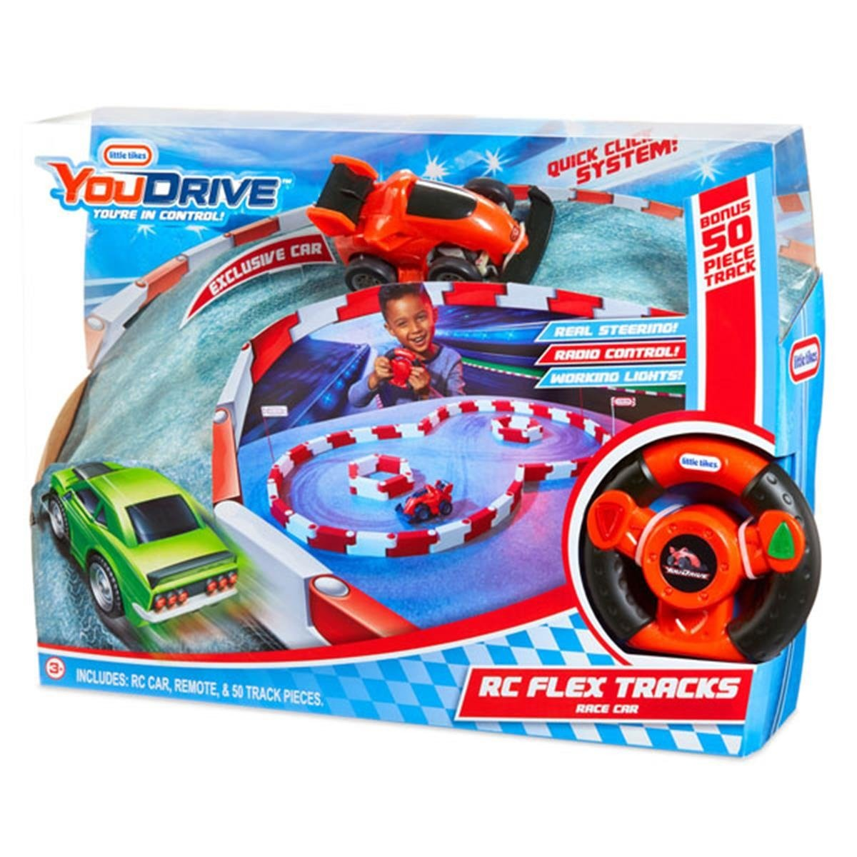 LITTLE TIKES YouDrive Auto sterowane + tor 50 tras